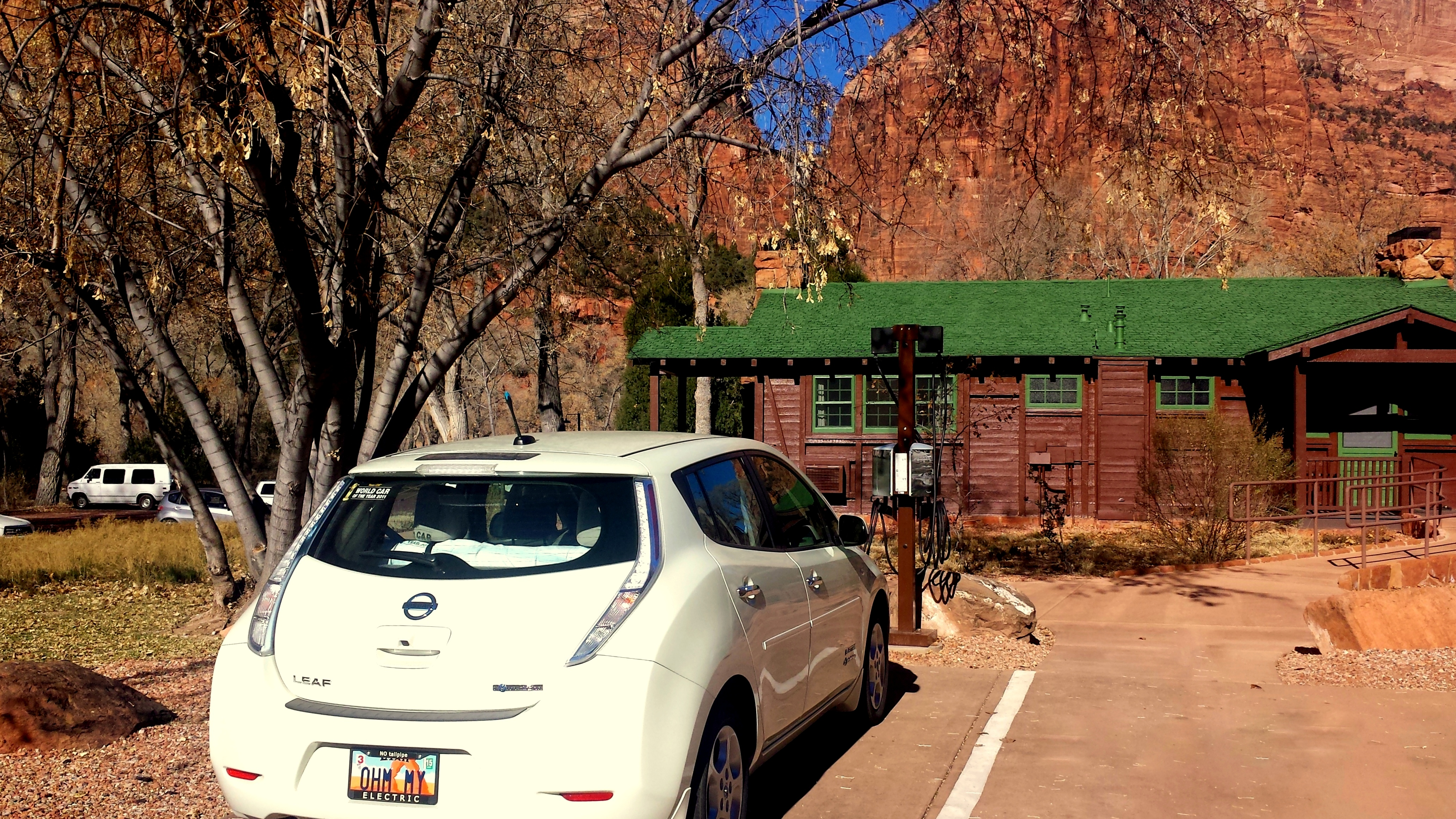 Priority Nissan Williamsburg >> Zion Lodge Installs Electric Car Charging Stations in Zion National Park