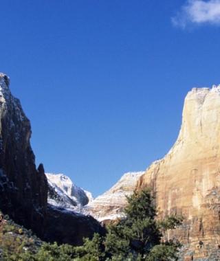 Zion Canyon National Park, UT, USA