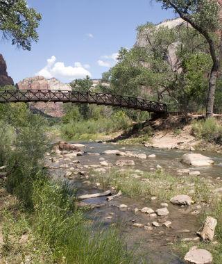 Bridge in Zion National Park