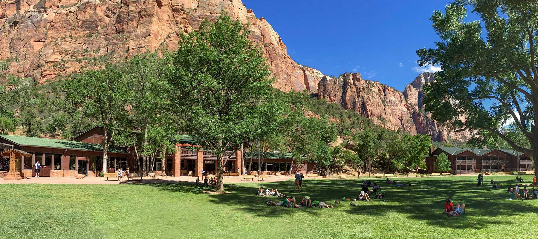 Zion Lodge 1