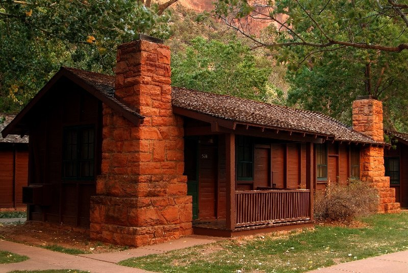 Cabins at Zion Lodge